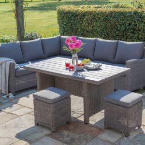 Palma Kettler Corner Sofa Set